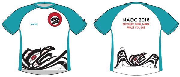 NAOC2018 teachnical shirt